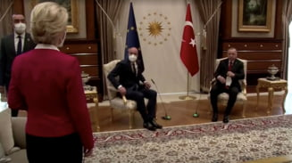 """Scandalul """"Sofagate"""": Sefa Comisiei Europene i-a transmis presedintelui Consiliului ca nu va permite ca o astfel de situatie sa se mai repete"""
