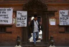 Scapi de cutremur, dai de birocratie. ONU: tone de ajutoare zac in Nepal