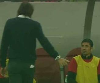 Scena incredibila in timpul derbiului Steaua - Dinamo