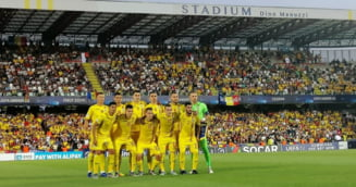 Scena socanta dupa calificarea Romaniei in semifinalele Euro U21: Iubita unui fotbalist, plina de sange in tribune
