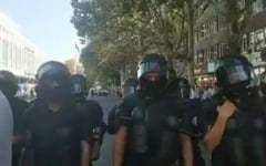 Scenariul 10 august, repetat la Chisinau: Protestatari dispersati cu forta, autoritatile nu stiu cine a aprobat interventia (Video)