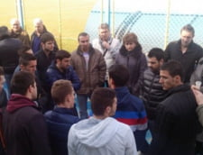 Scene de cosmar in Liga 2: Dacian Varga s-a batut cu Vasile Siman
