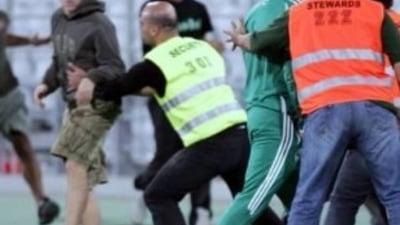Scene de groaza la Atena: Fanii lui Panathinaikos au facut prapad (Video)