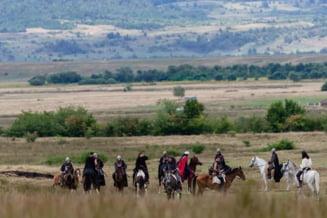 """Scene din lupta lui Vlad Tepes cu Radu cel Frumos, inspirate de """"Urzeala tronurilor"""", filmate pe Valea Avrigului"""