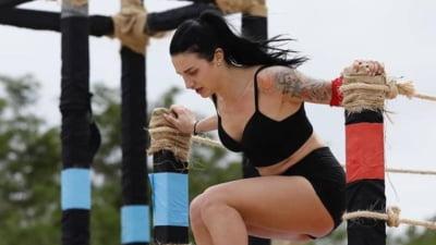 """Scene dramatice la """"Survivor"""". Fosta gimnasta Ana Porgras, eliminata pe neasteptate. Colegul Zanni nu s-a putut opri din plans VIDEO"""