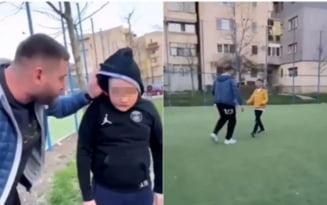 Scene revoltatoare pe terenul de sport. Un barbat a amenintat si a agresat mai multi copii. De ce a recurs la astfel de gesturi - VIDEO