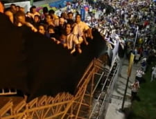 Scene socante la Campionatul Mondial 2014: Stadionul Maracana, pericol pentru spectatori (Video)