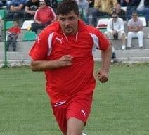 Scene uimitoare in Romania: Un fotbalist, arestat pe teren