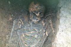 Schelete descoperite la poalele Turnului Chindia!