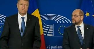 Schulz l-a primit pe Iohannis: A fost o premiera. Am discutat o ora intreaga in limba germana (Video)