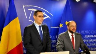 Schulz va avea o discutie cu Ponta, dupa declaratiile despre europarlamentarul Elmar Brok (Video)