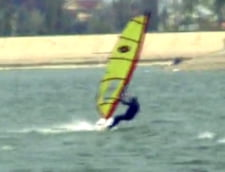 Scoala de windsurfing in Bucuresti (Video)
