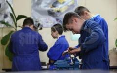 Scoala profesionala in sistem dual, langa fosta fabrica Romcarbon. Absolventii vor avea locuri de munca asigurate