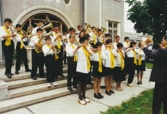 Scoala si biserica revitalizeaza fanfara din Gheraesti
