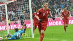 Scor incredibil in derbiul Germaniei, Bayern - Hamburg