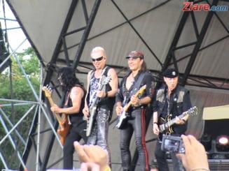 Scorpions, un concert electrizant (Video)
