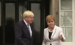 Scotia cere oficial Londrei un nou referendum de independenta. Boris Johnson promite ca se va opune