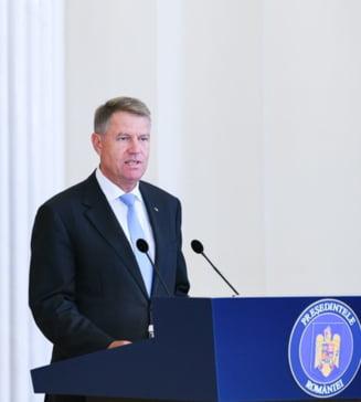 Scrisoarea presedintelui Iohannis privind referendumul si-a inceput traseul in Parlament