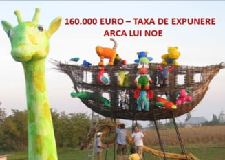 """Sculptor obligat sa achite 160.000 de euro pentru expunerea unei lucrari de arta pe un teren privat: """"Povestea pare ireala, dar este adevarata"""""""