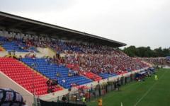 """Se aprinde nocturna, joi, pe stadionul """"Gloria"""", pentru un meci intre doua echipe din Buzau"""