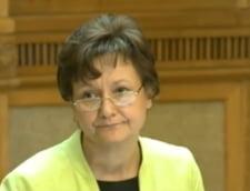 Se asteapta demiterea sefei CNA, Laura Georgescu: Parlamentul a legat, el sa dezlege
