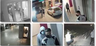 Se cauta hoti la Timisoara. In doar 7 minute, au incercat usile apartamentelor de pe 9 etaje. Ce au reusit sa fure. Foto