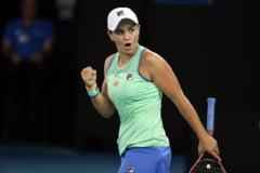 Se cunosc primele doua sferturi de finala de pe tabloul feminin la Australian Open. Lidera mondiala WTA a avut serioase probleme
