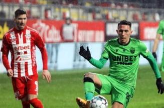 """Se ingroasa gluma pentru Dinamo. """"Cainii"""" au pierdut acasa cu UTA si mai fac un pas spre retrogradare"""