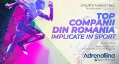 Se lanseaza editia 2 a studiului TOP Companii din Romania implicate in sport
