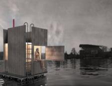Se lanseaza saunele plutitoare (Foto)