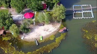 Se organizeaza protest pe Insula Belina: Va propunem sa va aduceti unditele, scaunelul si lada de bere