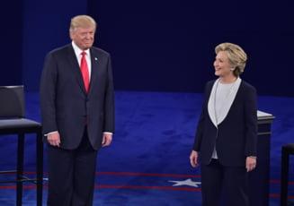 Se poate intampla orice! Clinton are doar 1% avans in fata lui Trump