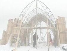 Se reconstruieste hotelul de gheata de la Balea Lac (Video)