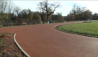 Se reface pista la stadionul de atletism!