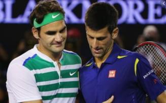 Se scrie istorie in tenis. Capitolul la care Novak Djokovic ii va lua fata lui Roger Federer