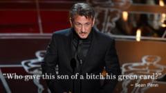 Sean Penn, aspru criticat pentru gluma de la Oscaruri - Ce i-a spus lui Alejandro Gonzalez Inarritu