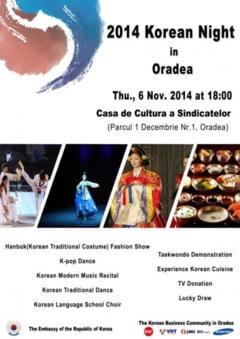 Seara coreeana la Oradea