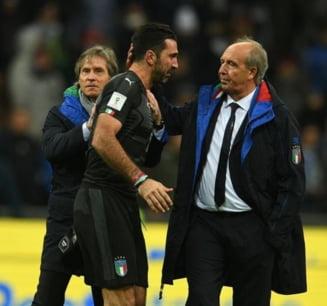 Seara neagra pentru Italia: Trei fotbalisti uriasi s-au retras din nationala dupa ratarea calificarii la Cupa Mondiala