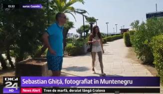 Sebastian Ghita, fotografiat la plaja in Muntenegru. Daca era prins de politisti, putea fi extradat in Romania