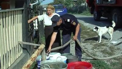 Seceta face ravagii in Maramures: 100.000 de litri de apa pentru populatie