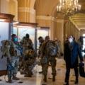 Secret Service si FBI controleaza 25.000 de militari din Garda Nationala masati la Washington. Soldatii sunt insarcinati cu securitatea ceremoniei investirii lui Biden