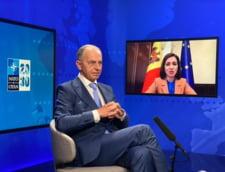 "Secretarul adjunct NATO, Mircea Geoana, mesaj catre Maia Sandu: ""Angajamentul meu este sa construim, in Republica Moldova, o democratie veritabila"""