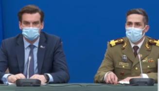 """Secretarul de stat Andrei Baciu, despre persoanele care s-ar fi vaccinat in centrele MApN mai devreme decat ar fi avut dreptul: """"Erau eligibile pentru etapa a doua"""""""