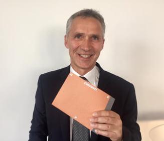 Secretarul general al NATO vine luni in Romania - se va intalni cu Iohannis si Tudose