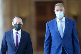 """Secretul lui Polichinelle: Klaus Iohannis anunță că îl susține pe Cîțu și va participa la Congresul PNL. """"Îl încurajez pe Florin să continue"""""""