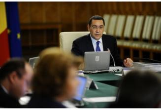 Sedinta de guvern a fost amanata UPDATE: Vinovatul ar fi Cazanciuc
