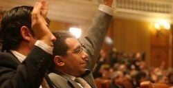 Sedinta extraordinara a Camerei a inceput cu 247 de deputati