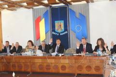 Sedinta furtunoasa la Consiliul Judetean