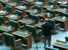 """Sedinta plenului Senatului, suspendata: """"Despre noi nu am decat cuvinte de lauda, dar indemn la putintica rabdare"""""""
