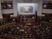 Sedinta solemna a Sfantului Sinod